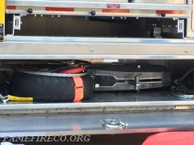 Griphoist compartment on Rescue 53.
