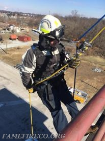 FF Cesar Lopez on rope.