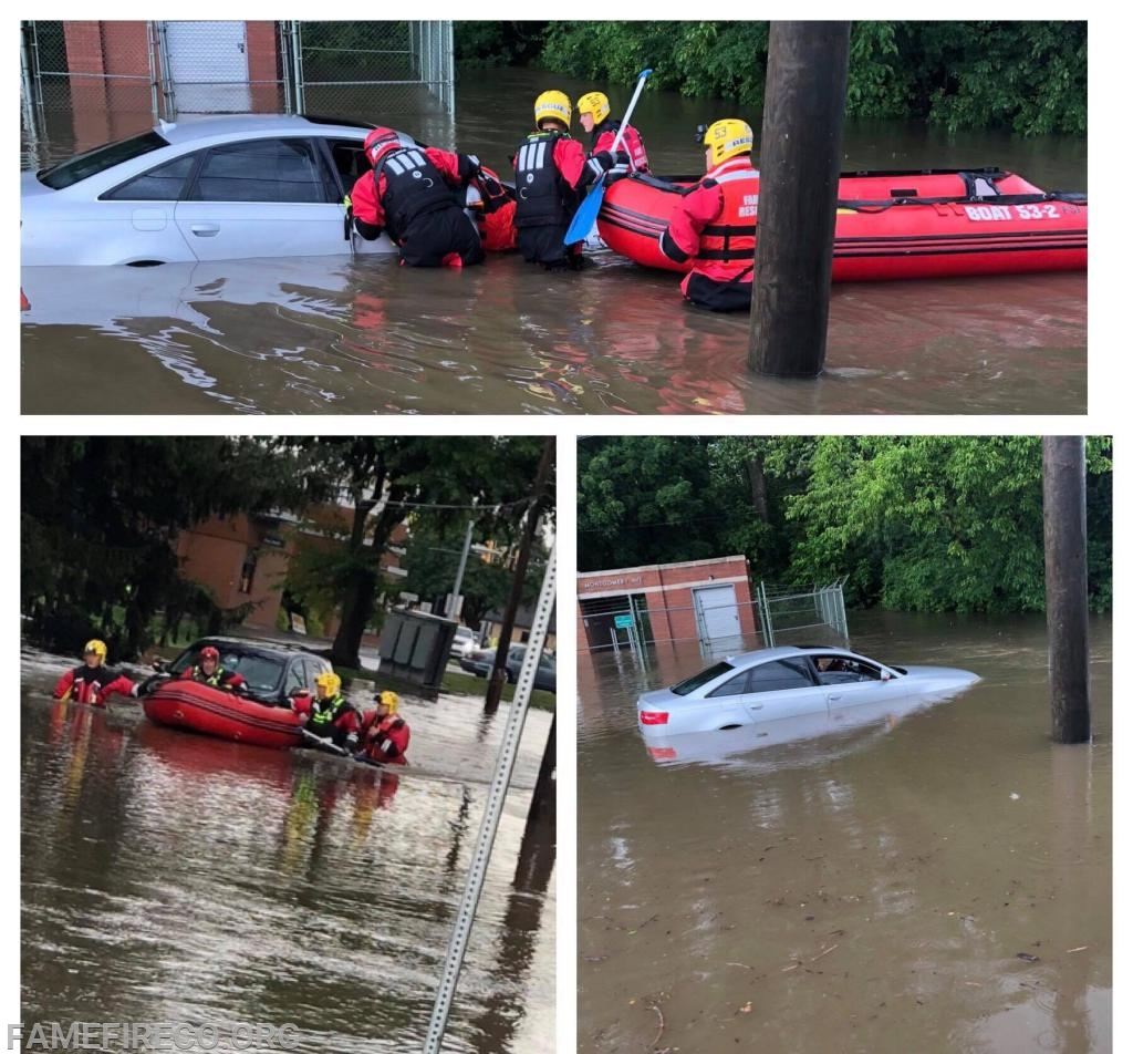 Photos courtesy of West Chester Borough Fire Department Facebook page