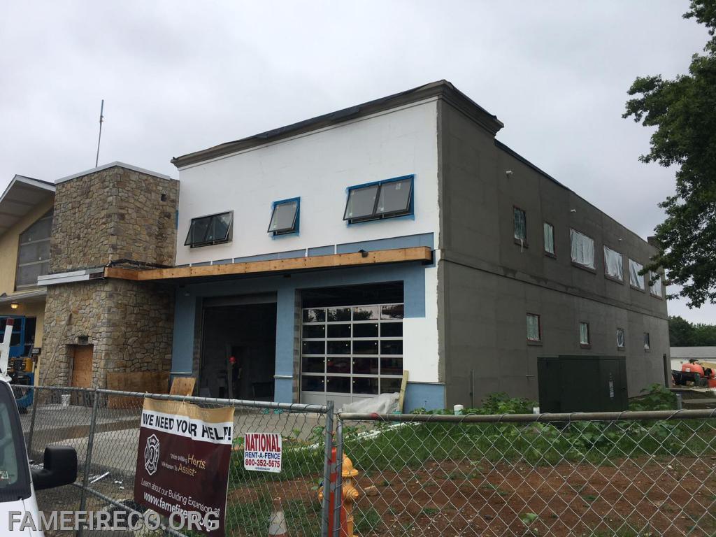 Exterior insulation system installation